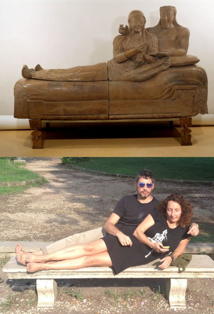 Sarcophagus Of The Spouses, Unknown vanGo'd by Jane and Frank